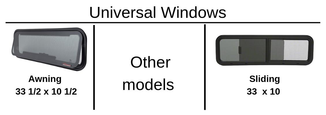Sprinterfreak, Truck Windows for Sprinter , windows for