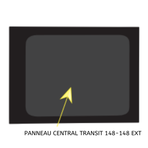 PANNEAU CENTRAL DROIT 148- 148EXT