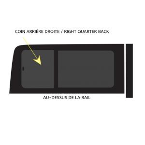 VITRE OUVRANTE -> COIN ARRIÈRE DROIT 144